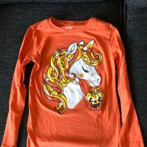 Long sleeve unicorn shirt